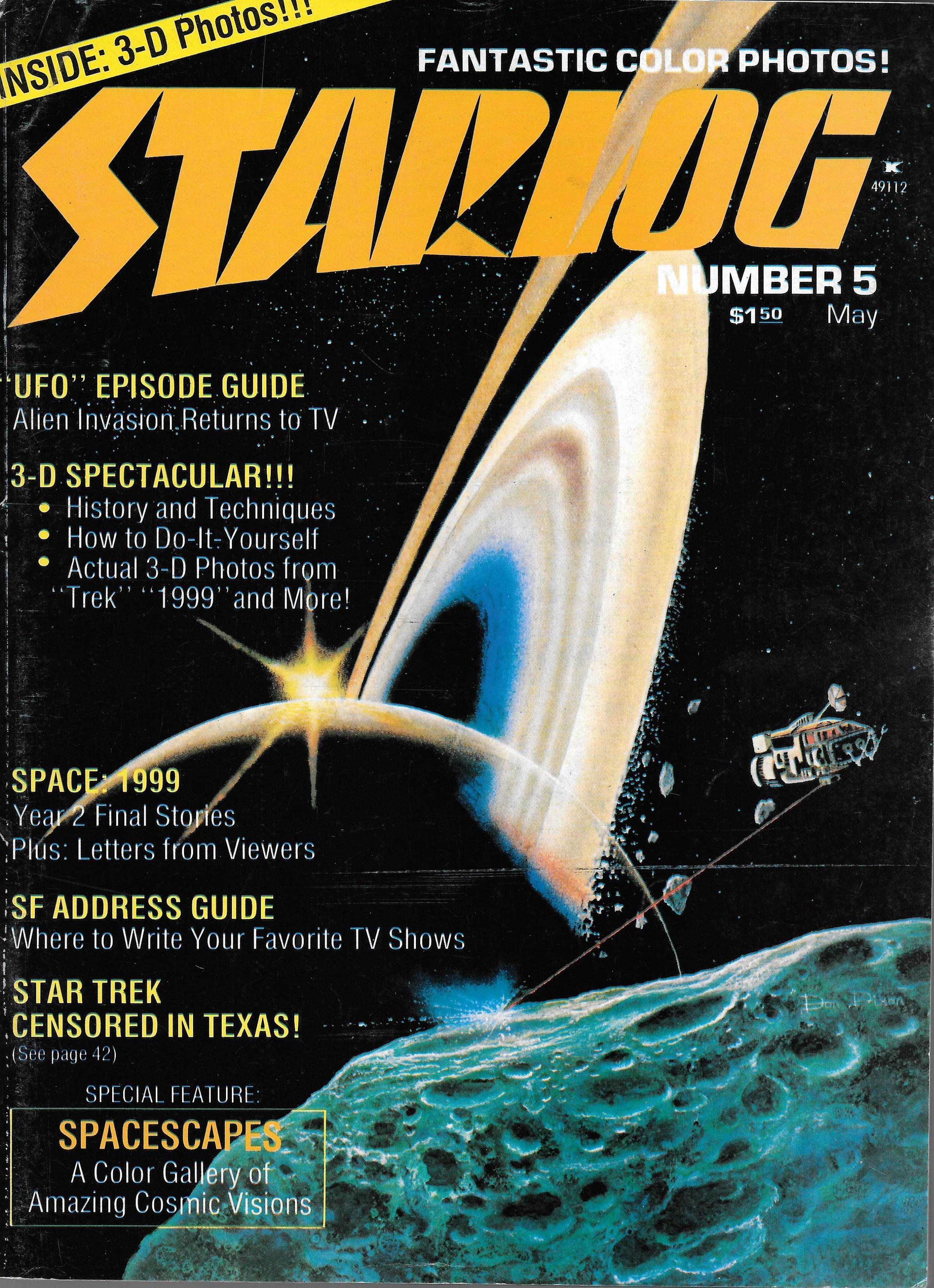 STARLOG US MAGAZINE NO 5 MAY 1977