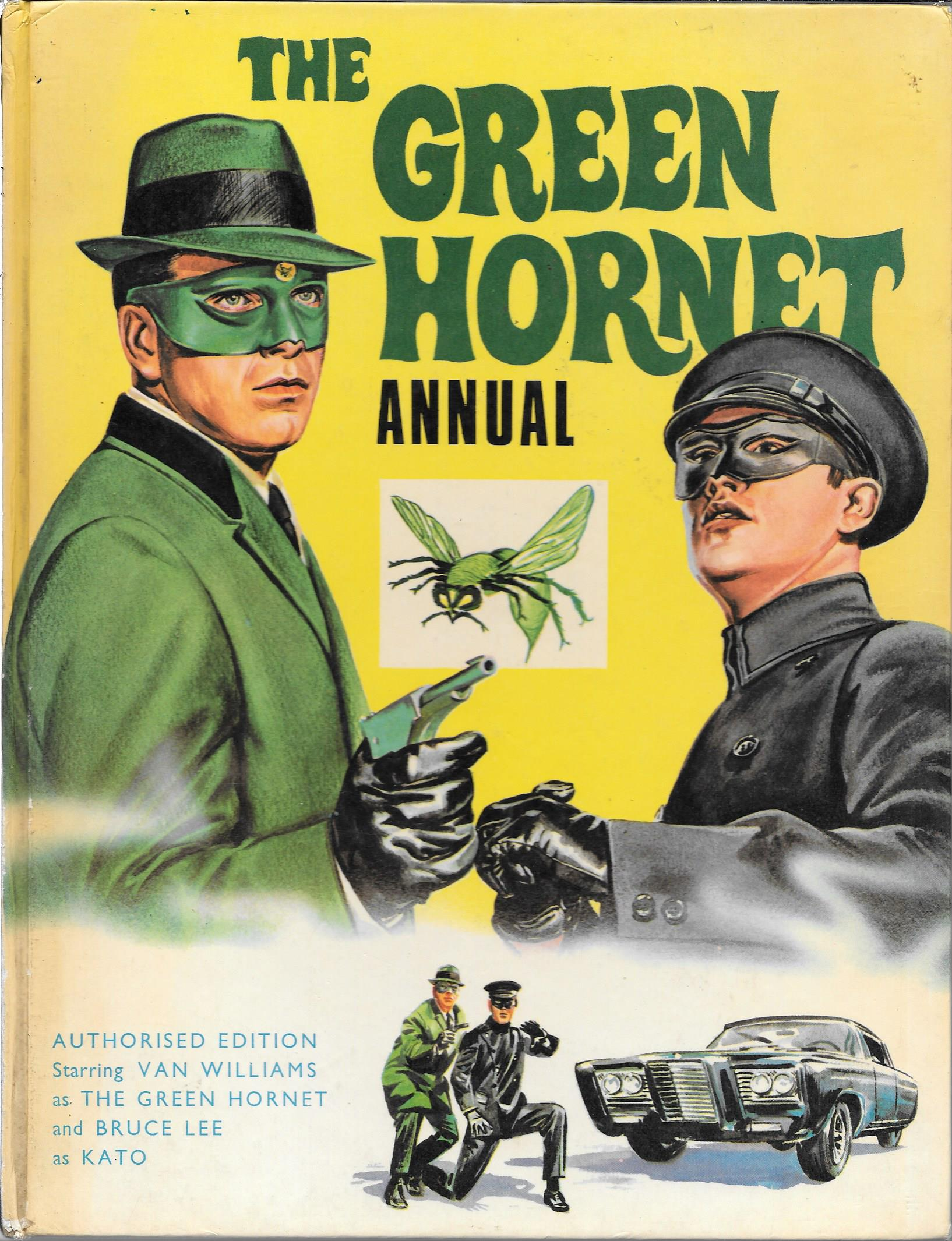 THE GREEN HORNET UK ANNUAL 1967 BRUCE LEE Vintage and Modern Magazines - Vintage Magazines