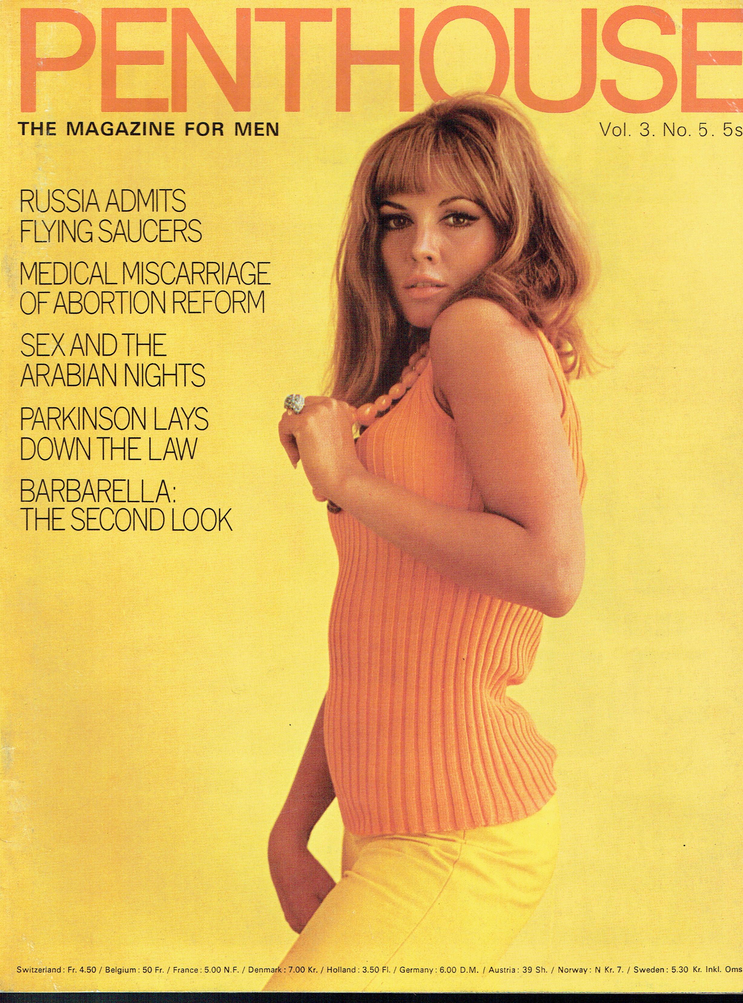 penthouse vintage uk men 39 s magazine 1968 vol 3 no 5 jane fonda barbarella vintage and modern. Black Bedroom Furniture Sets. Home Design Ideas