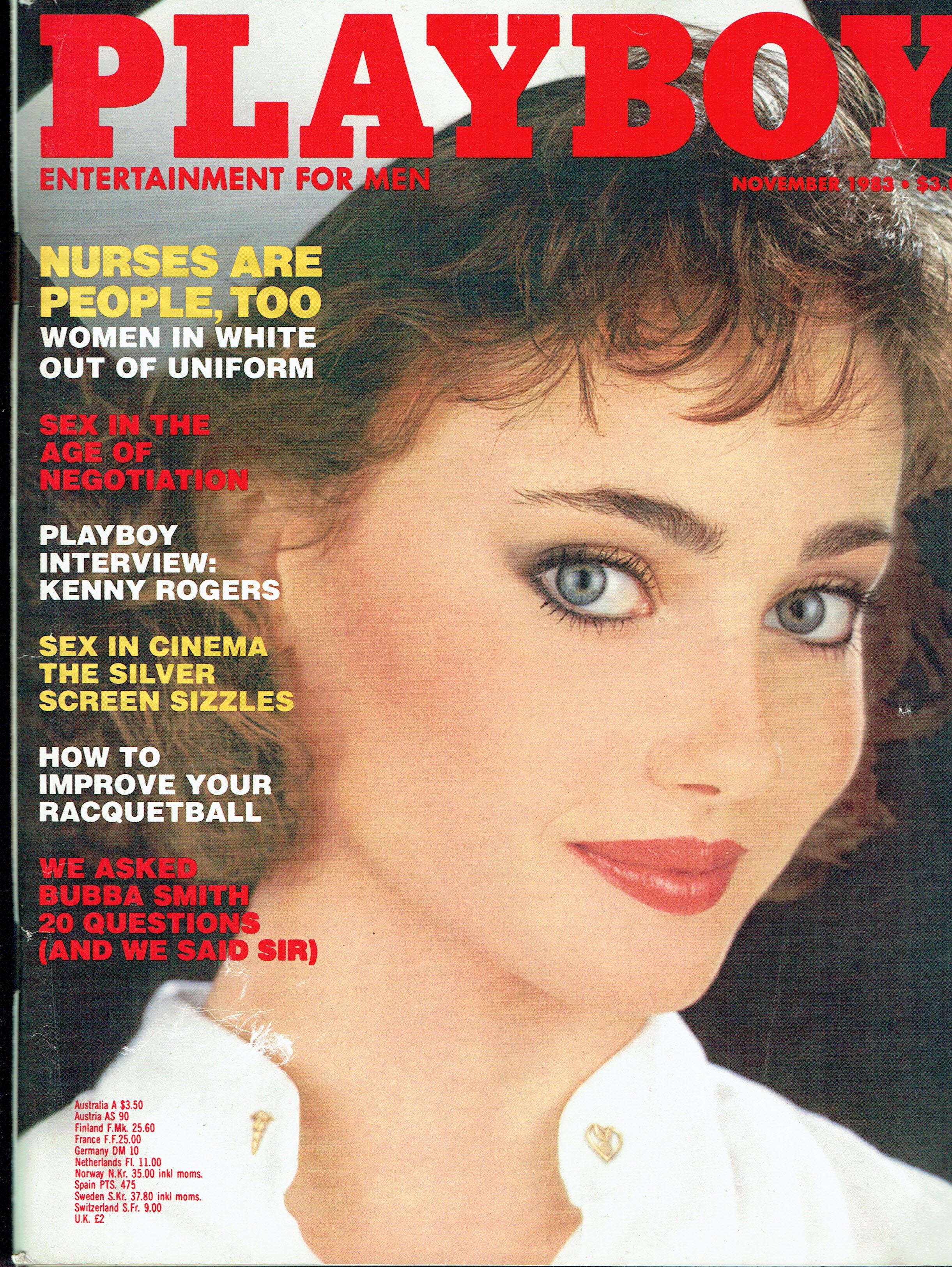 PLAYBOY US MAGAZINE NOVEMBER 1983 VERONICA GAMBA Vintage