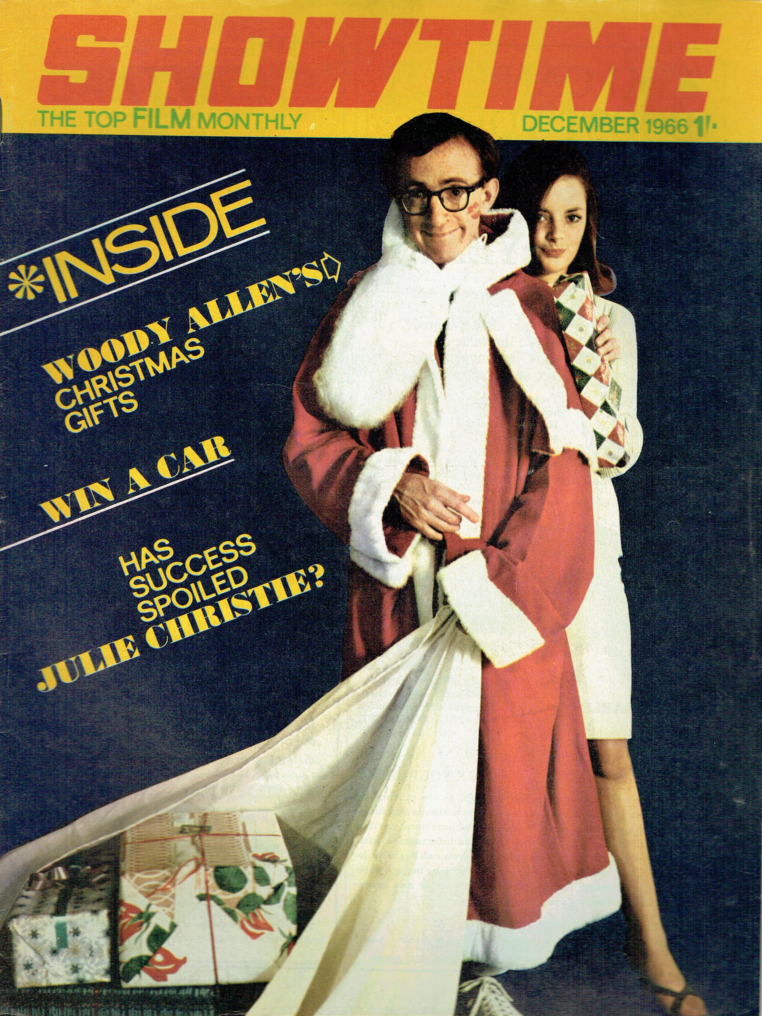 SHOWTIME UK FILM MAGAZINE DECEMBER 1966 ...